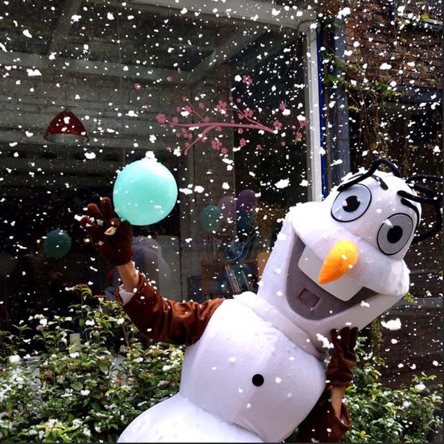 Olaf Mascot Costume Cartoon snowman Costume Halloween Christmas birthday party cosplay anime adult costume Free Shipping
