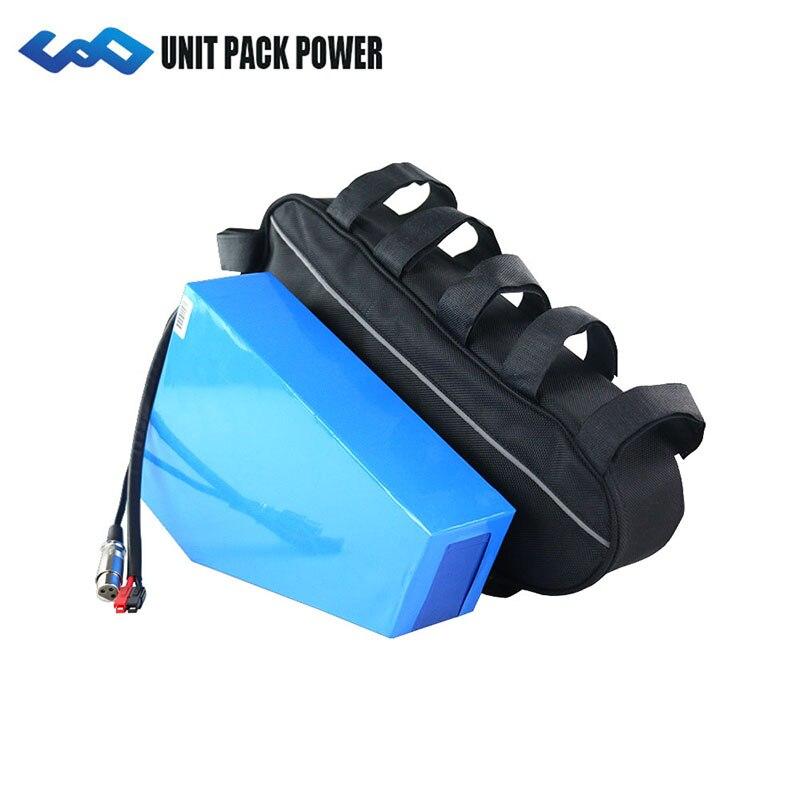 UPP 48 V 20Ah Triangle Ebike Batterie 48 V Vélo Électrique Batterie pour 48 V Bafang/8FUN 1000 W 750 W BBSHD BBS03 BBS02 Moteur
