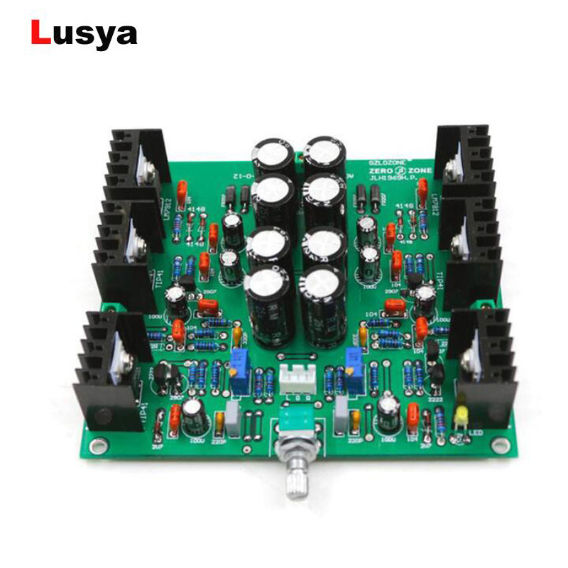 Amplifier Ghxamp Hifi Jlh 1969 Amplifier Audio Class A Power Amplifier Board Stereo High Quality For 3-8 Inch Full Range Speakers 2pcs
