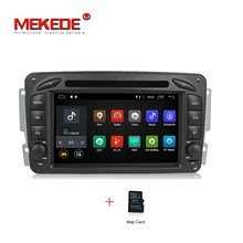 Android 7.1 2G RAM 2 Din Car stereo radio Reproductor de DVD Para El Benz/CLK/W209/W203/W168/W208/W463/W170/Vaneo/Viano/Vito/E210/C208