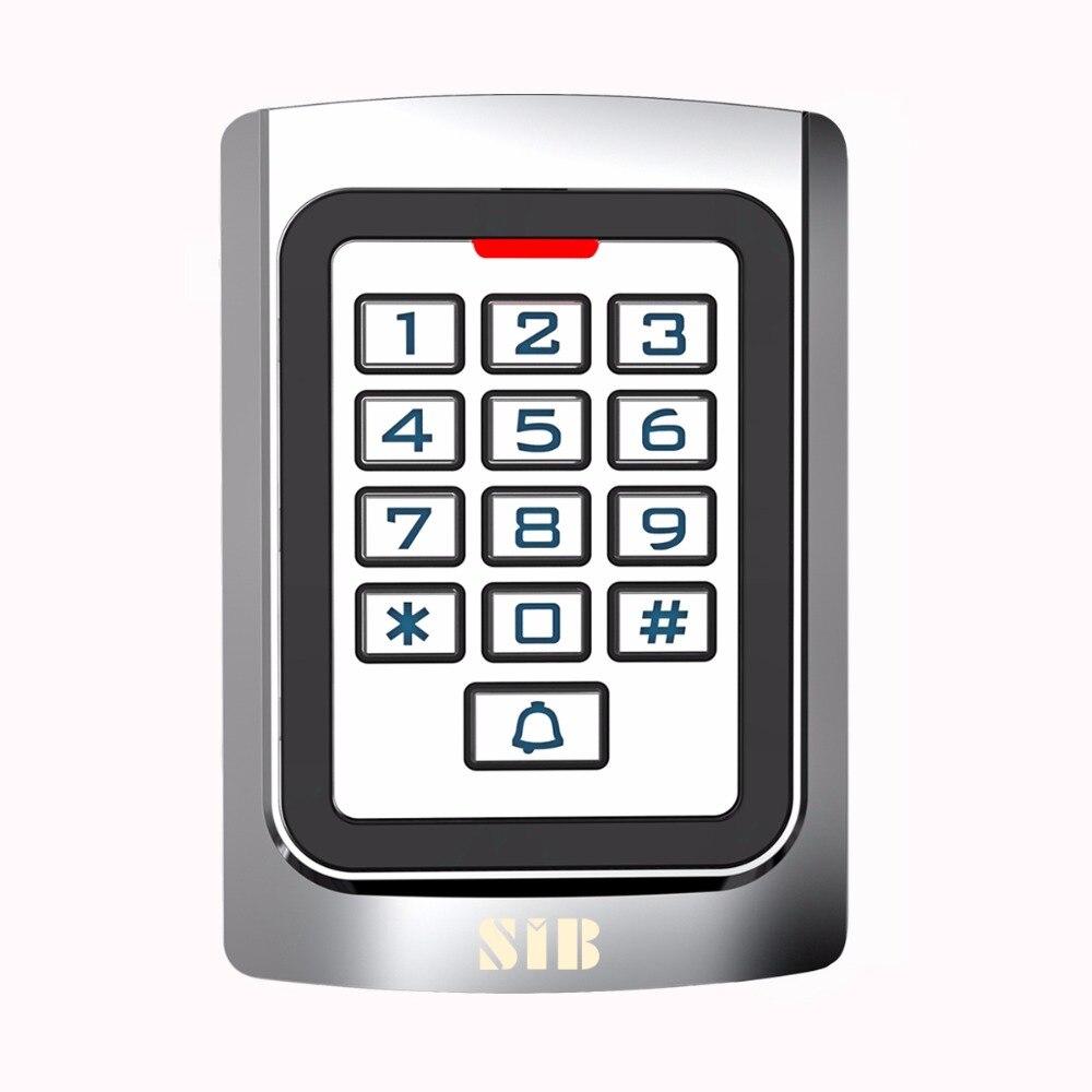 SIB Metal case Silicon Keypad Security Entry Door Reader RFID 125Khz EM Card Standalone Access control F1331D