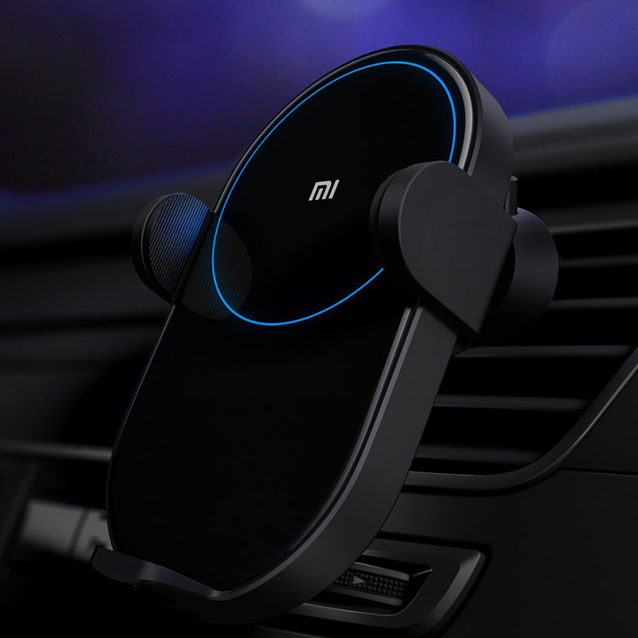 Image 3 - Original Xiaomi Wireless Car Charger 20W Max Qi Quick Charging Mi Wireless Car Charger for Mi 9 iphone X XS Sumsang in stock-in Car Chargers from Cellphones & Telecommunications