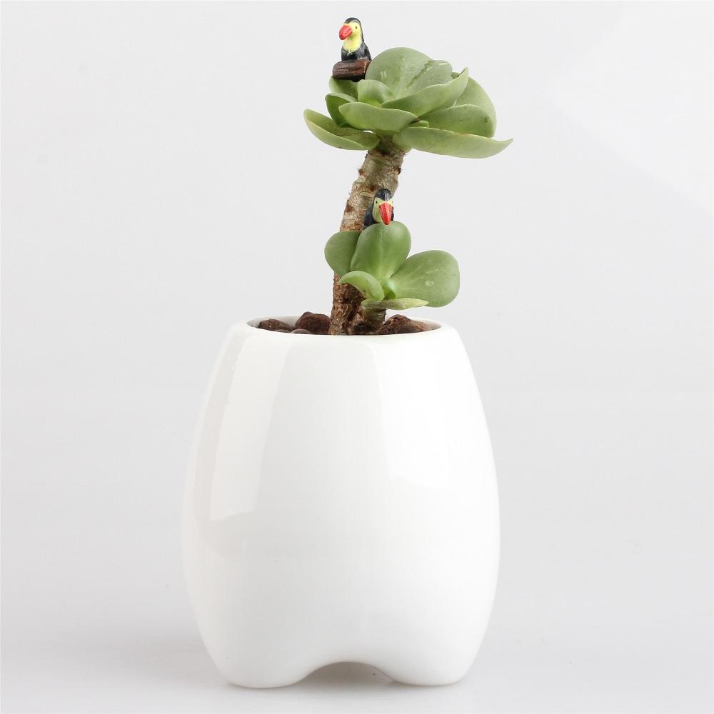 Balcony Tabletop Zakka Succulent Plant Decorative Ceramic