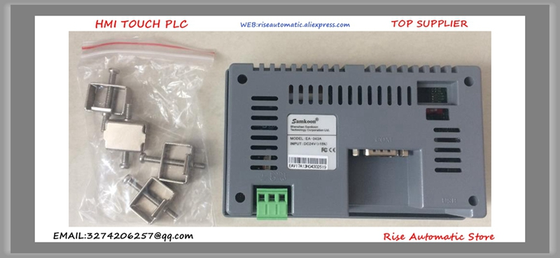 EA-043A EA043A EA 043A 4.3 inch HMI panel touch screen 480*272 new boxed buy it diretly 1pcs lot stk621 043a stk621 043a module90 days warranty