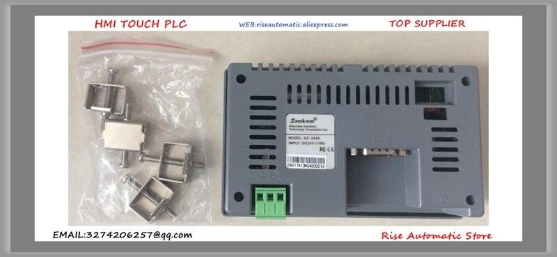EA-043A EA043A EA 043A 4.3 pouces HMI écran tactile 480*272 nouveau boîtier