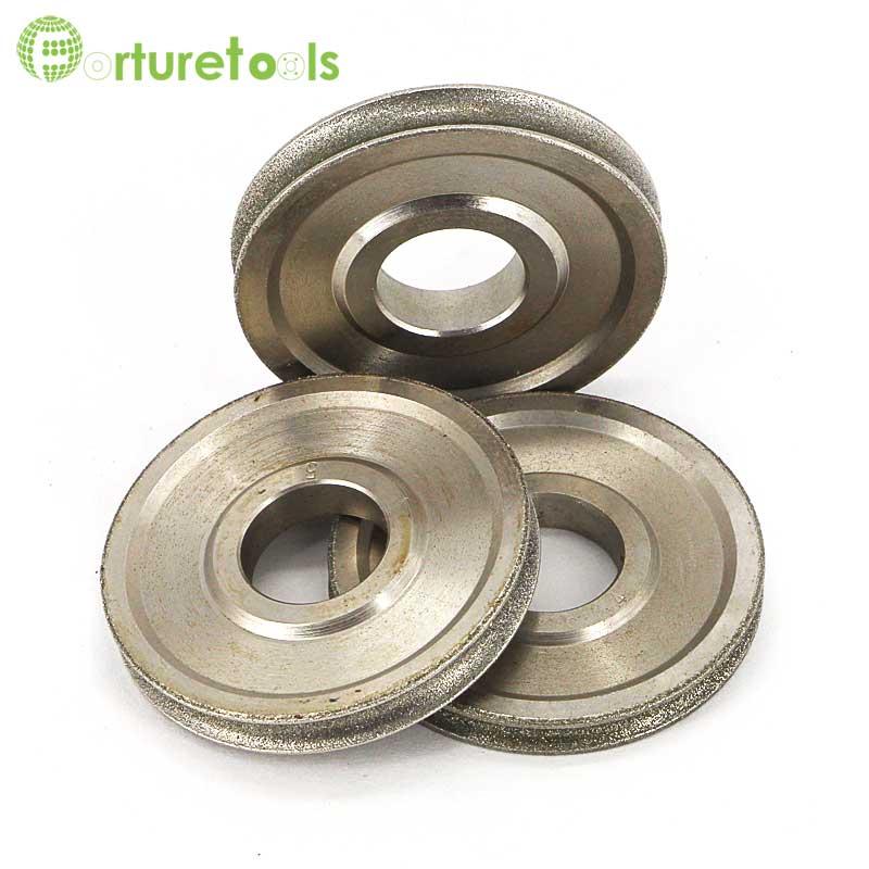 1 pièce Meule abrasive électrolytique revêtue de diamant de bord - Outils abrasifs - Photo 4