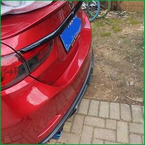 Image 4 - Auto styling Kofferraum Deckel Abdeckung Trim Heckklappe Boot Zurück Tür Abdeckung Trim Aufkleber Molding Für Mazda 6 M6 atenza Limousine 2014 2017