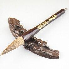 Autentyczne chiński tradycyjny pędzel do kaligrafii zbiornika w kształcie pędzle do kuplety łasica królik włosy chiński obraz szczotka