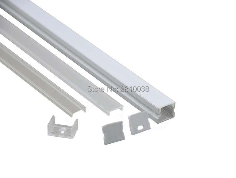 50 X 1M dəstləri / Lot Square Anodlaşdırılmış alüminium - LED işıqlandırma - Fotoqrafiya 3