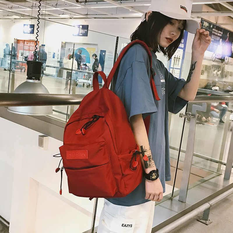 DCIMOR прекрасный красное сердце Оксфорд рюкзак женский водостойкий отдыха сумка опрятный школьная сумка для подростков книга Mochilas