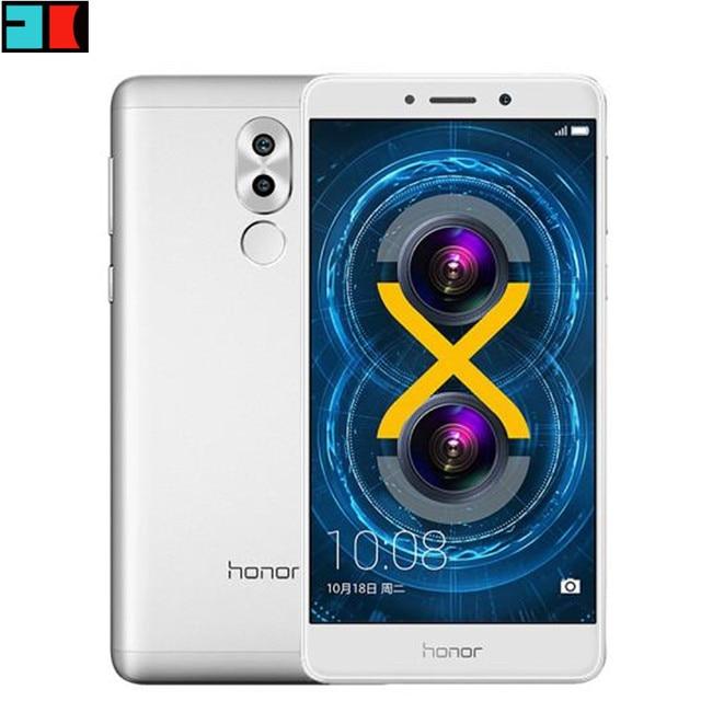 Original Huawei Honor 6X 4G LTE Mobile Phone Hisilicon Kirin 655 Octa Core Dual Rear Camera 5.5'' 3GB RAM 32GB ROM