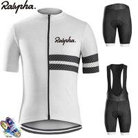 Raphaing Aleing Nam Đi Xe Đạp Áo Yếm Quần Short Pro Đi Xe Đạp Bộ Thoáng Khí Nam Đi Xe Đạp Jersey Bộ Dụng Cụ Maillots Ciclismo Hombre 2019