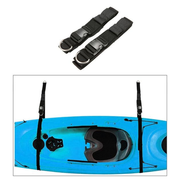 Kayak Wall Hanger >> 2pcs Kayak Wall Hanger Straps Webbing For Boat Kayak Sup Storage