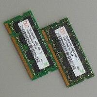 Hynix 4GB 2X2GB PC2 6400S DDR2 800 800Mhz DDR2 Laptop Memory CL6 0 SODIMM Notebook 2RX8