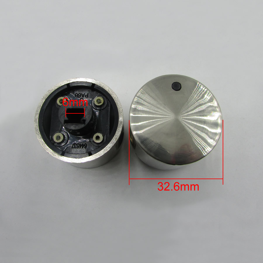genuine cylindrical knob for gas stove reinforcement type switch stove fittings 2pcs