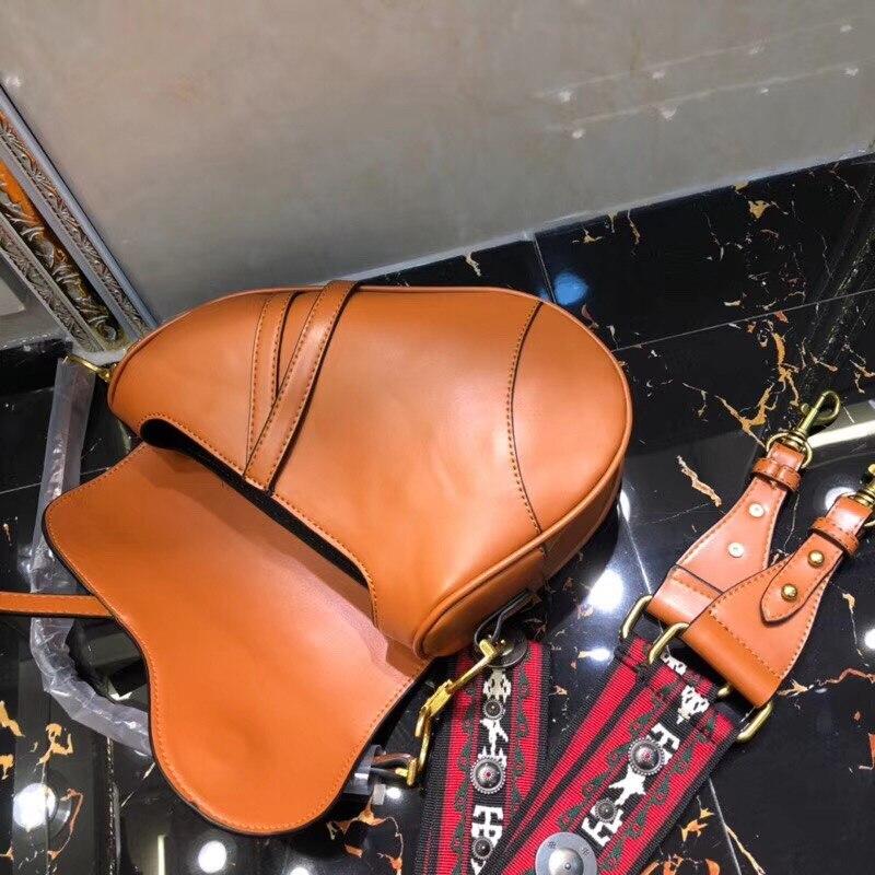 18 Women Bag Brand S Design Real Cow Leather Soft Geometric Handbag for Woman Shoulder bags with Long Strap Sac Bolsas 5