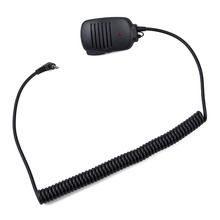 New Y Plug Handheld Speaker With Light Mic microphone 1pin for Yaesu Vertex VX-1R/2R/3R/5R/VX168/VX160/FT60R