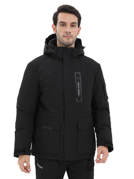 2018 outdoor outfits cotton clothes thermal insulation waterproof and windproof hooded mountaineering jacket