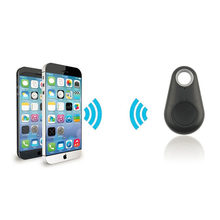 Micro Mini Localizador Inteligente Smart Wireless Bluetooth 4.0 Alarme Tag Carteira Chave Pet Cão Rastreador Tracer Localizador de Rastreamento Preto QUENTE(China)