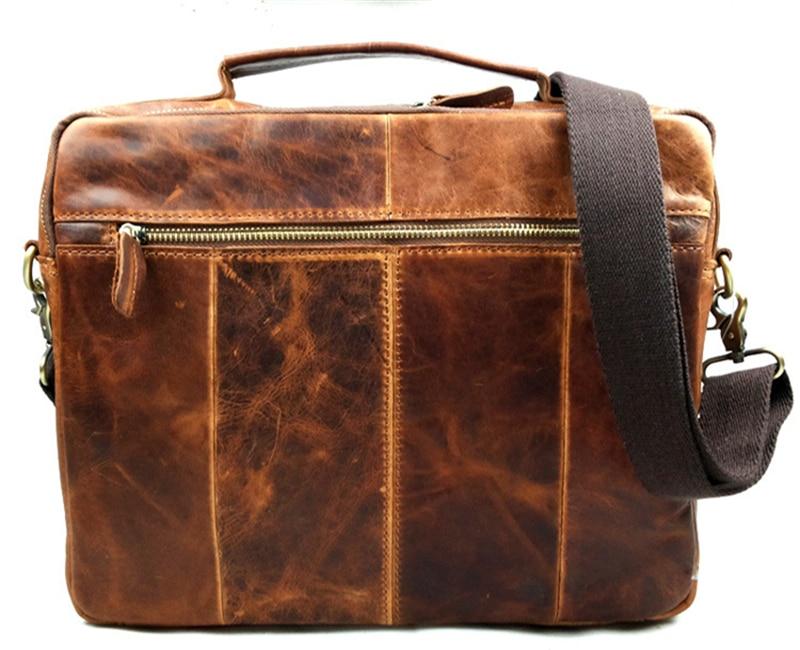 noir2 la vie quotidienne Pour le travail les voyages Vintage BAIGIO Sac /à bandouli/ère en cuir pour homme