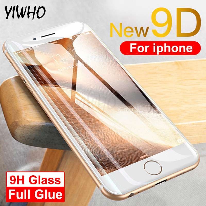 9D Screen Protector Protective Glass On The For Apple IPhone 8 Plus Tempered Glas Film I Phone 6S XS Max XR X 6 Iphone7 Iphone8