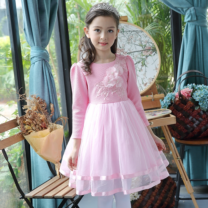 Baby Girls Birthday Party Dress 2017 New Wedding Teens Girls Dresses Kids Clothes Children Clothing for 8 9 10 11 12 13 14 years baby girls party dress 2017 wedding sleeveless teens girl dresses kids clothes children dress for 5 6 7 8 9 10 11 12 13 14 years