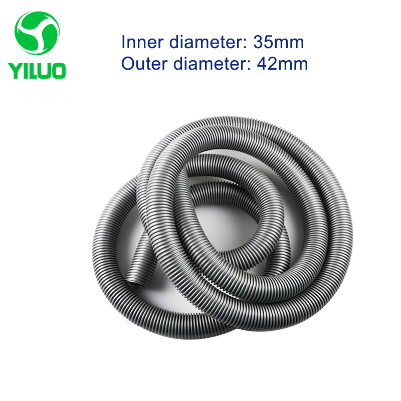 5m inner Diameter 35mm Gary hose with High Temperature Flexible EVA vacuum cleaner Hose of industrial Vacuum Cleaner 2 5m inner diameter 40mm black hose with high temperature flexible eva vacuum cleaner hose of industrial vacuum cleaner