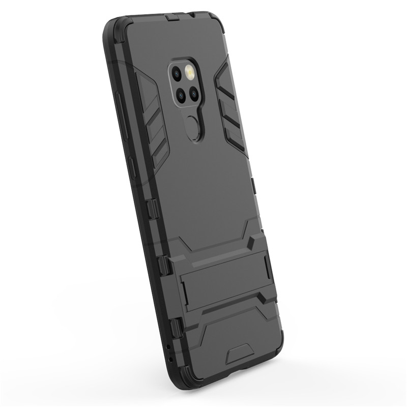 Huawei Mate 20 Case Cover Armor Case For Huawei Mate 20 Shockproof Back Hard Cover Phone Funda Bumper Mate 20 Phone Cover HATOLY in Fitted Cases from Cellphones Telecommunications