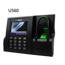 Linux system U560 optical sensor fingerprint time attendance IC card employee time attendance device with TCP/IP