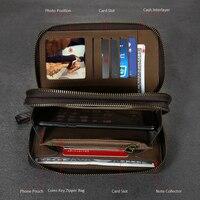 Flovemeユニバーサル革財布ケースのためのiphone 6 6 s 7プラス5 5 s se三星