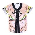 New Dragon Ball Camiseta Son Goku Hot Anime Camiseta Poleras Hombre Homme Verão 3D T-shirt Dos Homens Engraçados Dos Desenhos Animados Top Tees