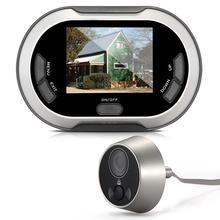 """3.5 """"LCD de La Puerta Digital Mirilla Visor de 170 Grados Cámara de INFRARROJOS de Visión Nocturna Monitor de Vídeo Timbre de la Puerta Timbre de La Cámara de Fotos y Memoria"""