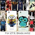TAOYUNXI силиконовый чехол для телефона zte Blade X3 Blade D2 Blade T620 zte Blade A452 Q519T корпус сумка чехол для zte Balde A452 кожа - фото