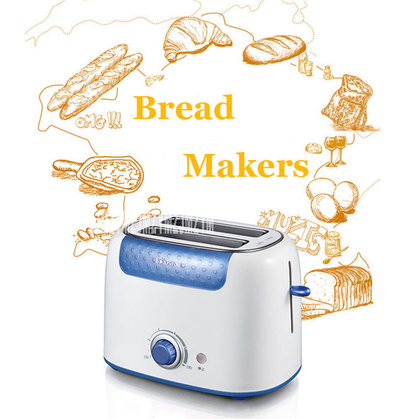 Household Bread maker toaster double face baking double slot 2 slices of toast for breakfast toaster DSL-601 automatic toaster