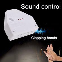 Interrupteur marche/arrêt activé par le son, commande électronique, Gadget blanc, 110/220V, livraison directe
