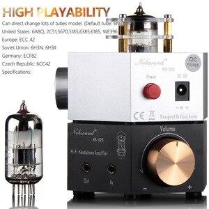 Image 3 - 2020 Nobsound NS 02E Class A 6N3 Vacuum Tube Amplifier Stereo HiFi Headphone Amp / Pre Amp