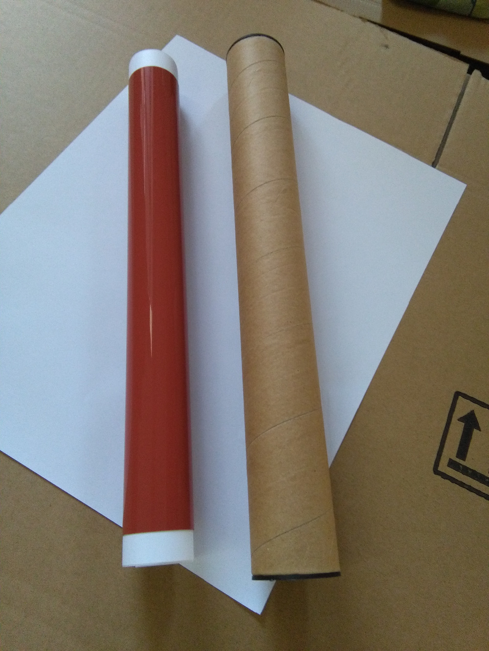 higher quality fuser film sleeve For Konica Minolta bizhub C451 C550 C660 C452 C552 C652 fuser sleeve