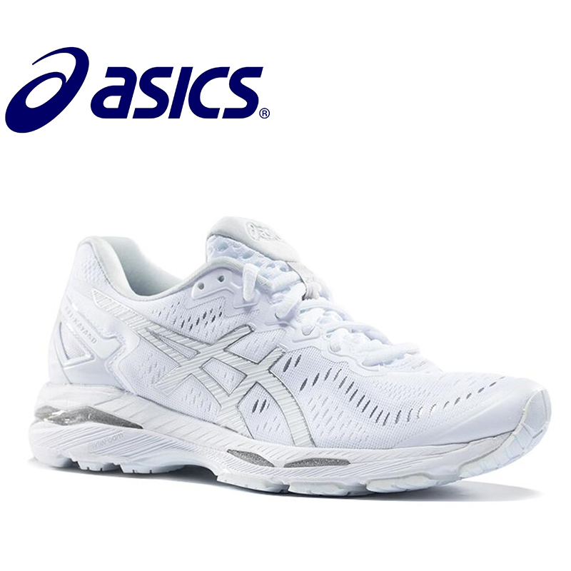 Original New Arrival Official ASICS GEL-KAYANO 23 Men's Cushion Sneakers Comfortable Outdoor Athletic shoes GQ