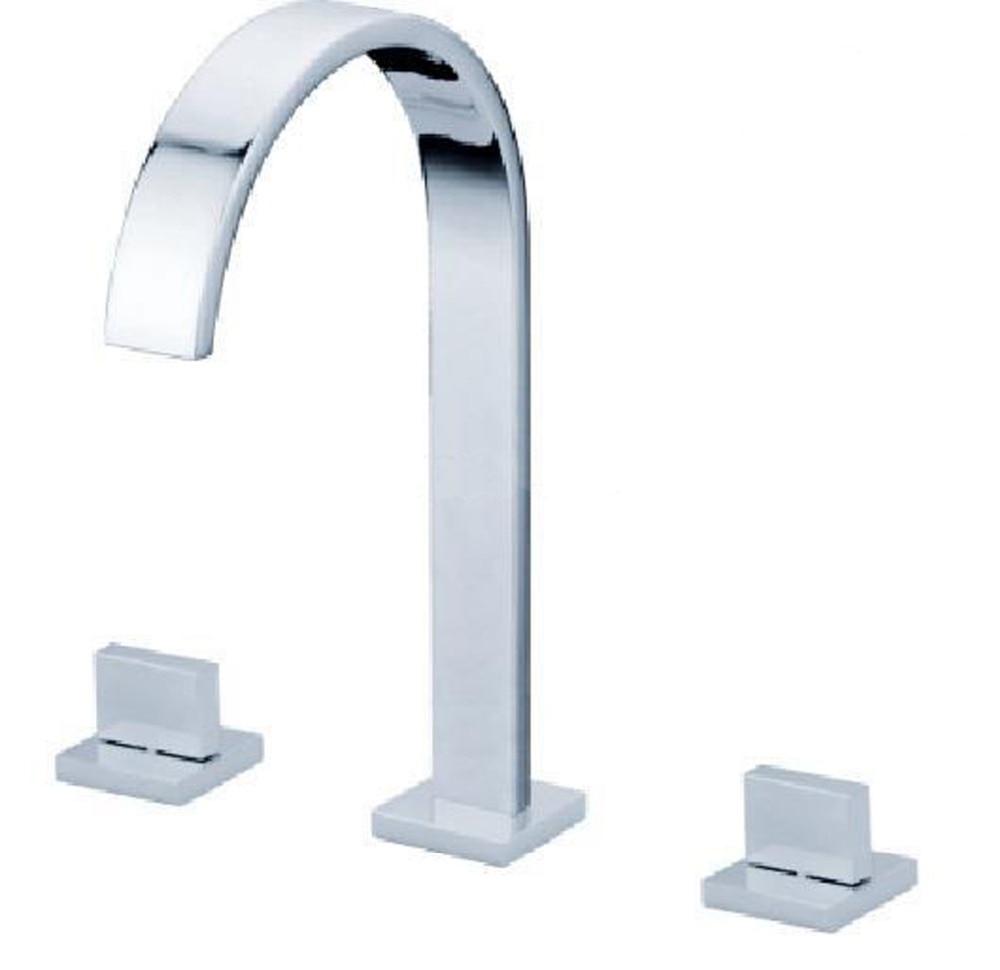 Homedec роскошный плоский Сосуд водопад кухонная раковина хромированный полированный кран