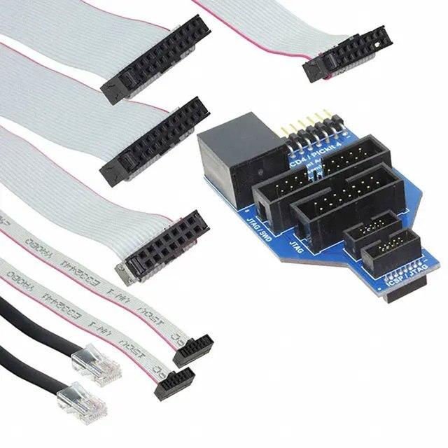 1 قطعة x AC102015 ICD4 RJ45 مهايئ عام مجلس استخدام مع ICD4 ICSP/JTAG