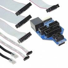 Pcs x AC102015 1 ICD4 RJ45 Uso Placa de Adaptador Universal Com ICD4 ICSP/JTAG