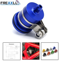 FREAXLL Motorcycle Accessories Brake Fluid Reservoir Clutch Tank Oil Cup fit For Yamaha MT09 MT-09 FZ09 FZ-09