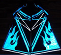 Raver руды Techno Hardstyle Tanz Шланг Шаффл Брюки Флуоресценции Светоотражающие Shuffle DJ PHAT Брюки