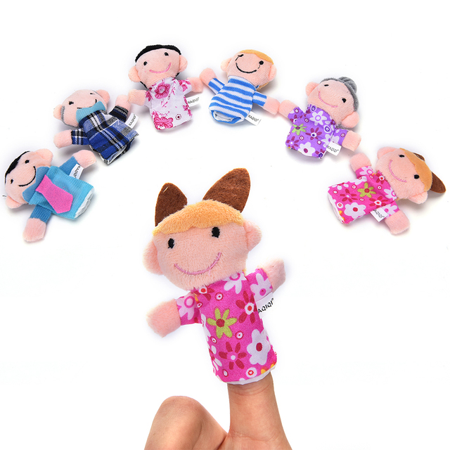 Toys Finger Puppets
