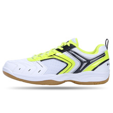 Men's Women's Impact Resistance Ultralight Sport Badminton Shoes 2017 Unisex Breathable Damping Sneakers For Couples