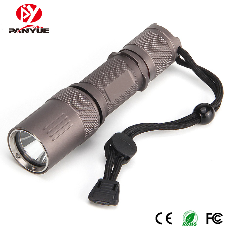 PANYUE Vintage Flashlight  XM-L2 LED 800 Lumens 18650 Rechargeable Torch light Water Resistant Flash
