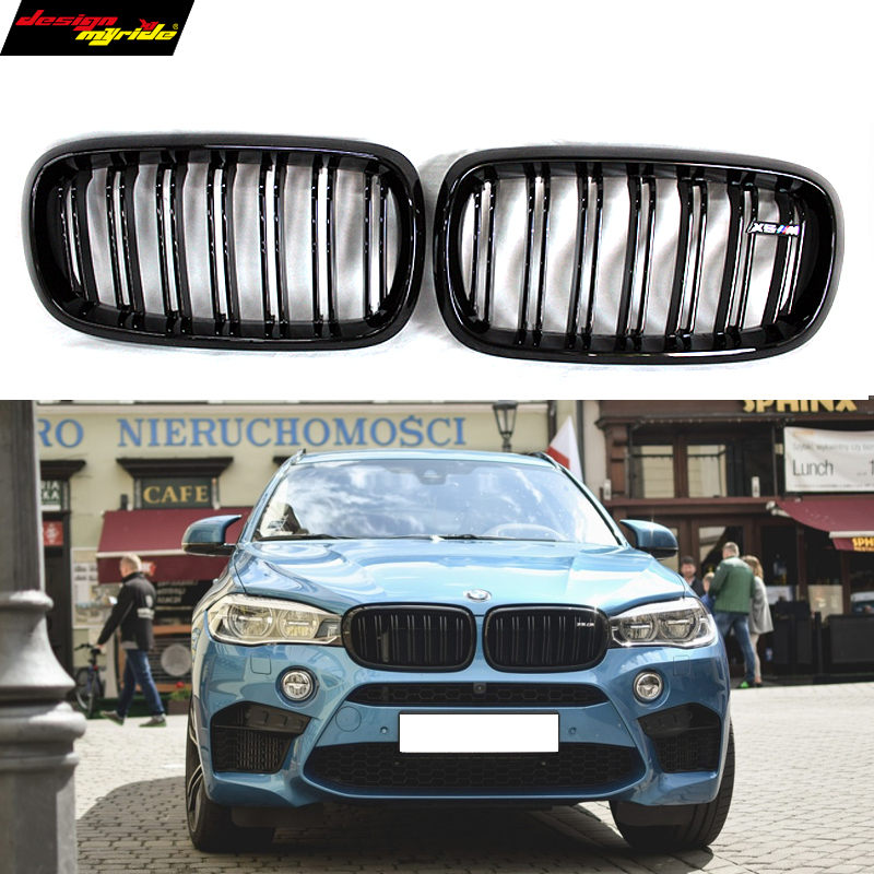 X5 F15 carbon fiber ABS front grille for BMW X6 F16 2015 - present yandex w205 amg style carbon fiber rear spoiler for benz w205 c200 c250 c300 c350 4door 2015 2016 2017