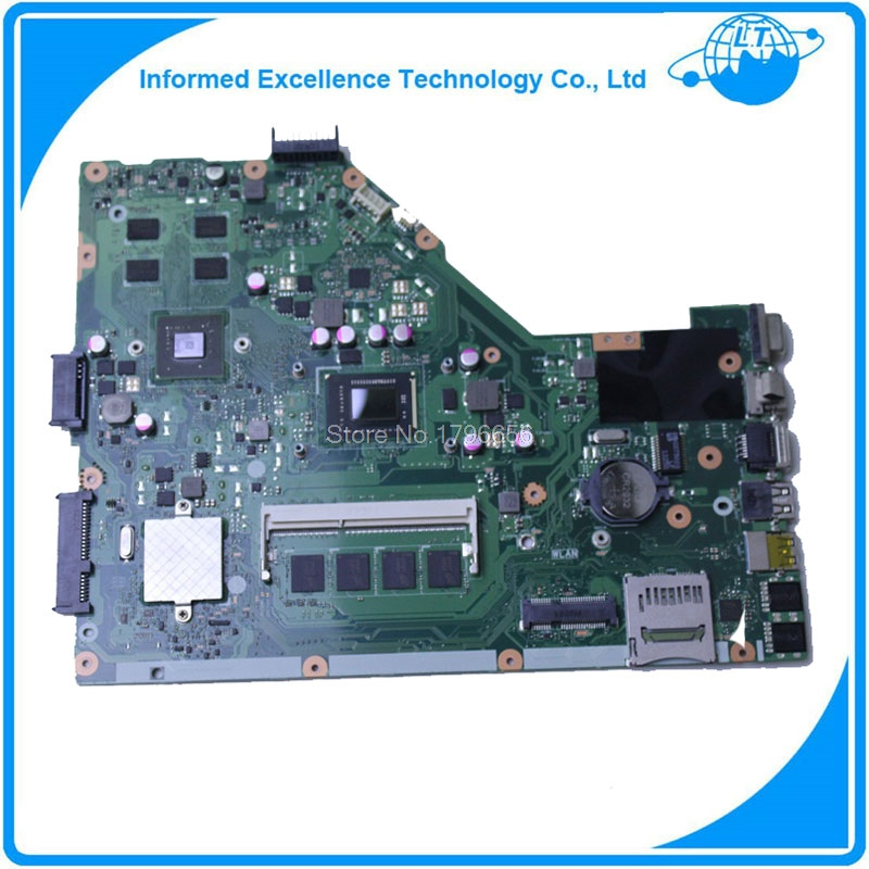 60-n50mb1b00 Original For ASUS X55VDR X55VD motherboard with I3-2350 CPU 4GB RAM rev3.1 mainboard for asus x55vdr motherboard 4g ram i3 cpu rev3 1 100% tested integrated original new motherboard