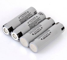 10pcs/lot New Original Panasonic 18650 NCR18650BD 3.7V 3200mAh 10A discharge battery for electronic cigarette