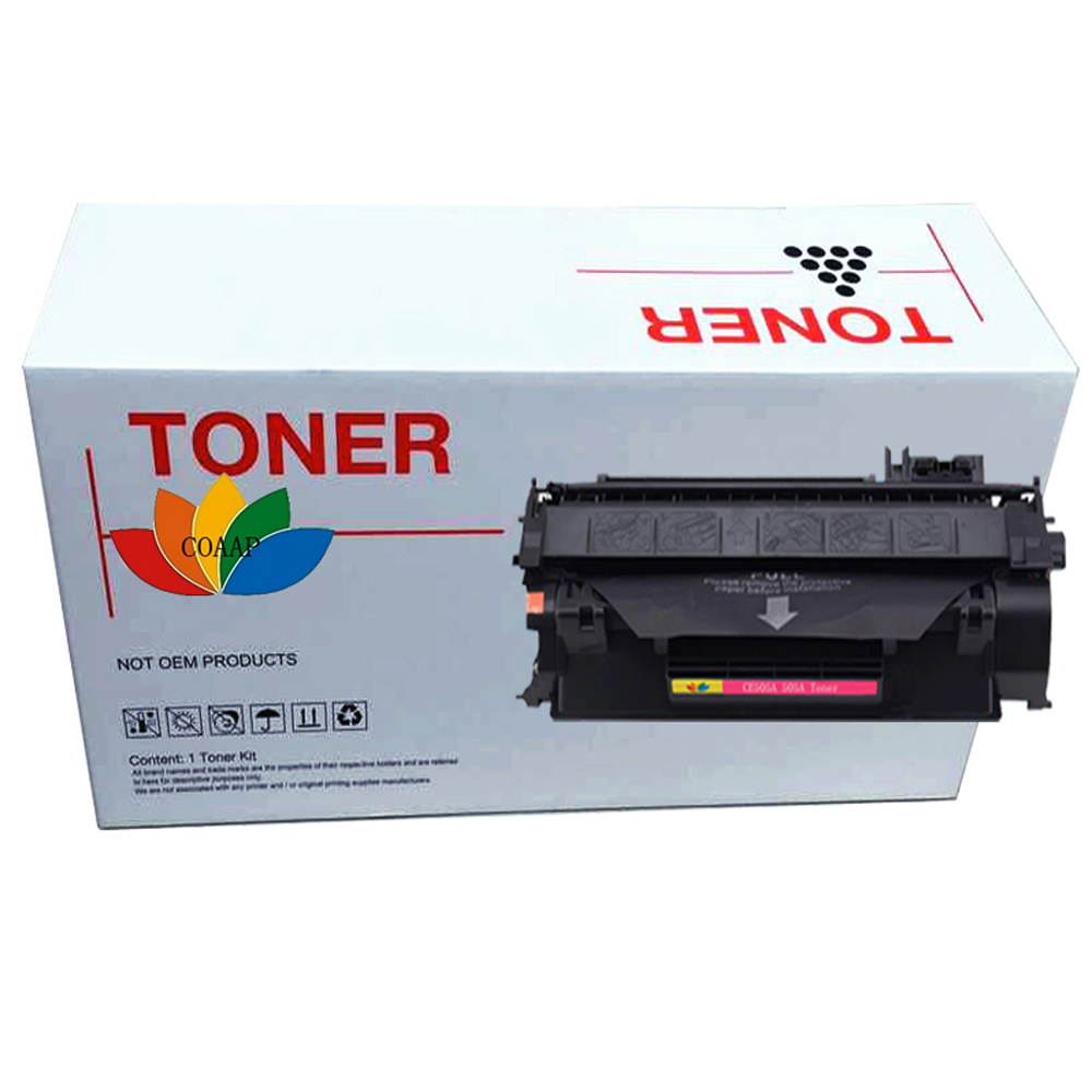 CE505A <font><b>05A</b></font> Series <font><b>Toner</b></font> <font><b>Cartridge</b></font> For Compatible <font><b>HP</b></font> LaserJet 2030, 2035, 2050, 2055 - Black image